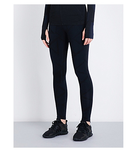 LNDR Transit Travel stretch-jersey leggings (Black