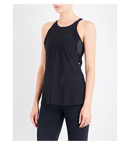 LNDR Performance Crop jersey leggings (Black