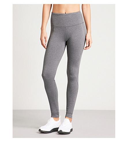 LNDR Limitless stretch-jersey leggings (Grey+marl