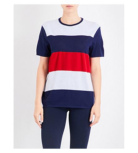 LNDR Scoot merino wool T-shirt (Navy