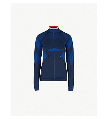 LNDR Spright stretch-jersey jacket (Navy blue