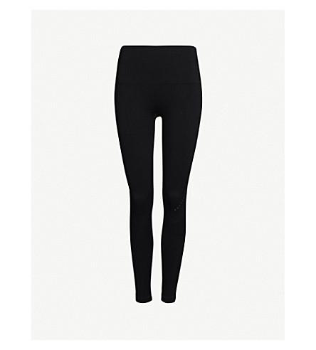 LNDR Blackout compression performance stretch-jersey leggings (Black