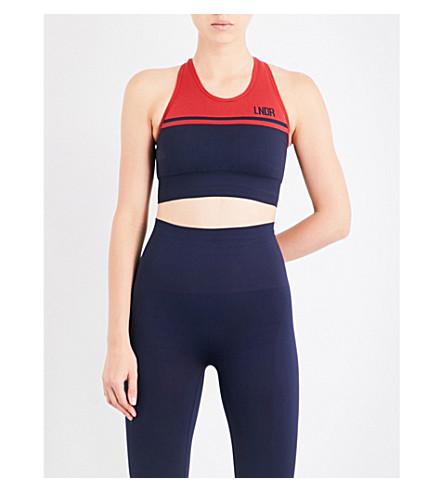 LNDR A-Grade stretch-jersey sports bra (Navy