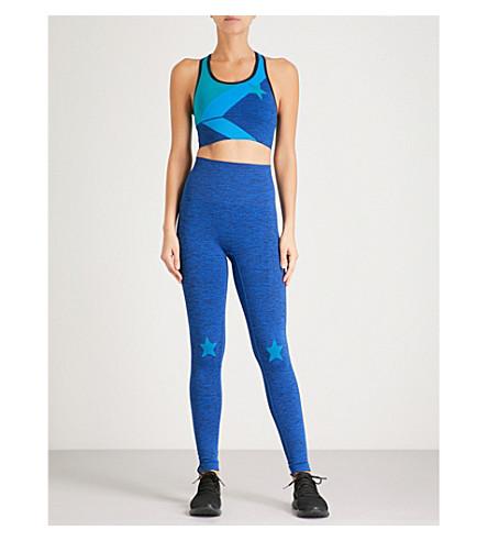 LNDR Stretch-jersey gift set (Corn+flower+blue