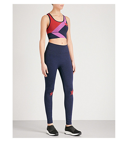 LNDR Stretch-jersey gift set (Navy+marl