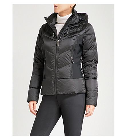 GOLDBERGH Kumiko padded shell hooded ski jacket (Black