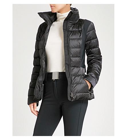 GOLDBERGH Emi padded shell hooded ski jacket (Black