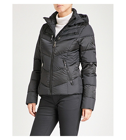 GOLDBERGH Kotaku padded shell hooded ski jacket (Black