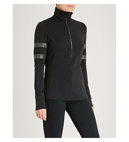 GOLDBERGH Misako stretch-jersey ski top (Black