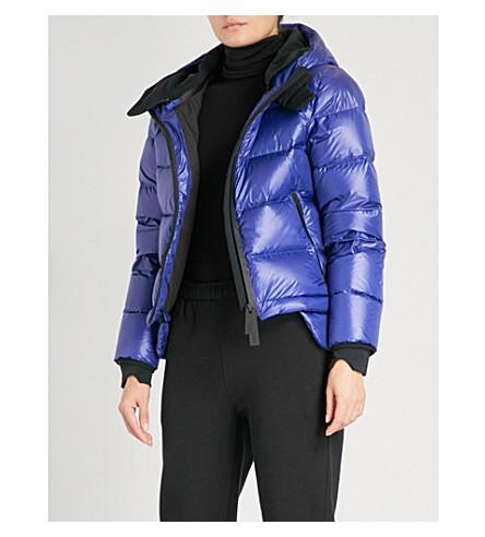 TEMPLA 光泽 shell-down 滑雪夹克 (蓝色