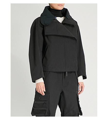 TEMPLA 3L Balloon cotton-blend ski jacket (Black