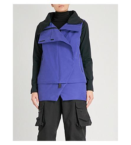 TEMPLA Anton cotton-blend ski jacket (Blue