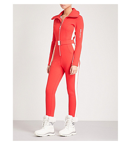 CORDOVA Aspen neoprene ski jumpsuit (Fiery+red