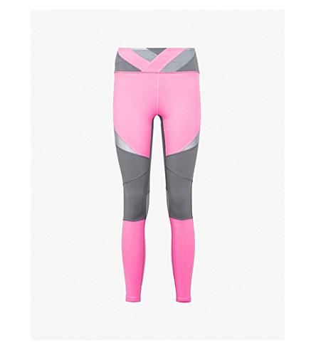 BODY BY BYRAM Nyx panelled leggings (Grey pink