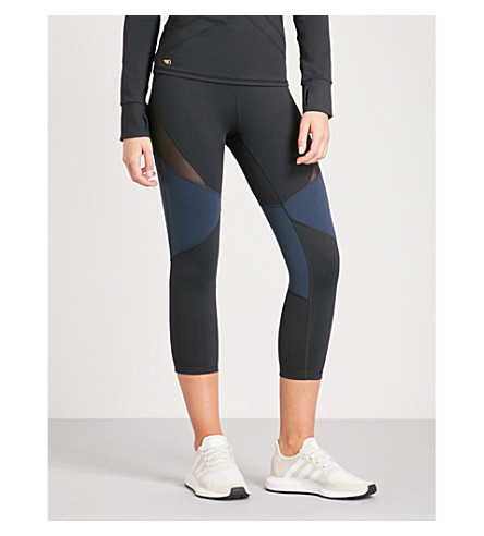 BODY BY BYRAM Clio jersey leggings (Navy+black