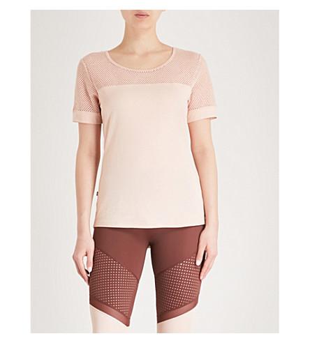 LURV One Body cotton-jersey T-shirt (Blush
