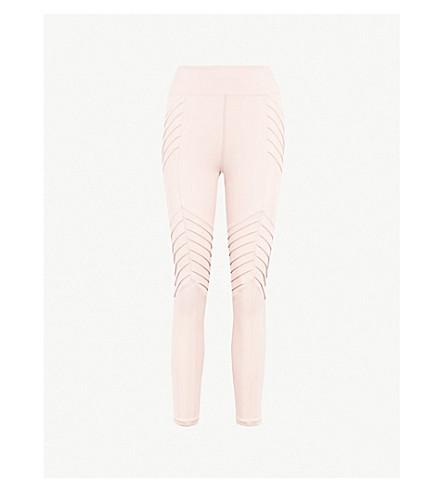 LURV New Beginnings stretch-jersey leggings (Blush