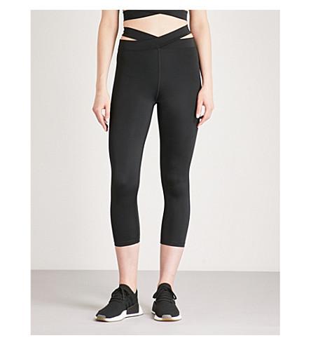 LURV Evolution high-rise stretch-jersey leggings (Black