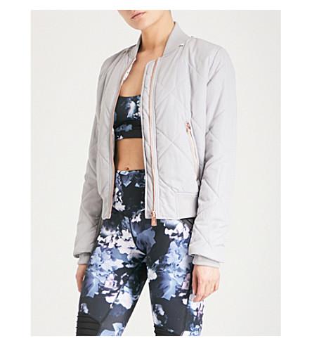 LURV New Horizons shell bomber jacket (Grey
