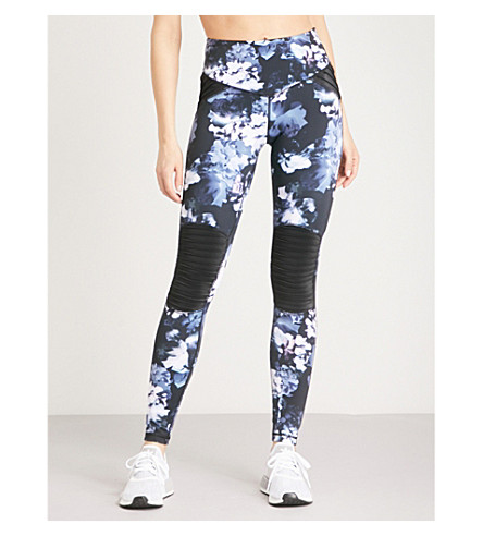 LURV Against The Elements stretch-jersey leggings (Blue