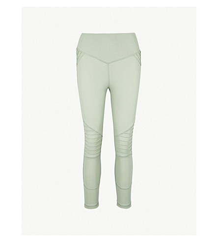 LURV Perfect Days cropped jersey leggings (Mint