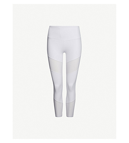 LURV Natural Forces stretch-jersey leggings (White