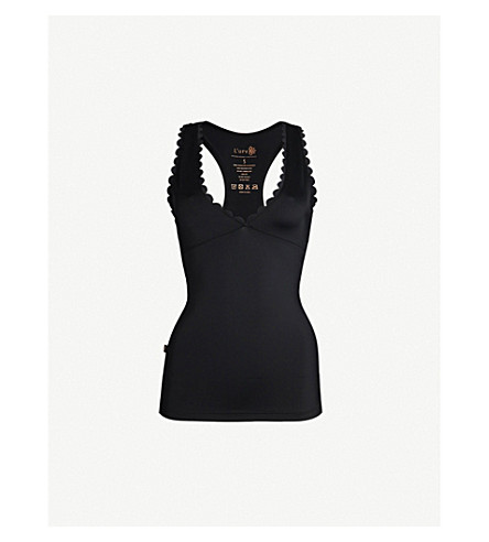 LURV I'm on Clouds stretch-jersey top (Black