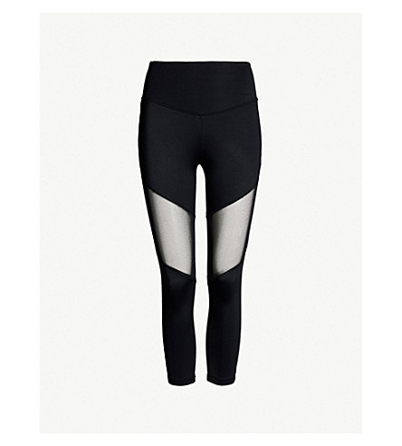 LURV Natural Forces stretch-jersey leggings (Black