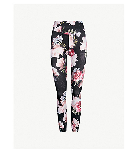LURV Moody Bloom stretch-jersey leggings (Black