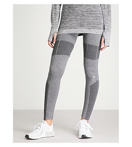 ELEVEN BY VENUS Seamless Smooth stretch-knit leggings (Black