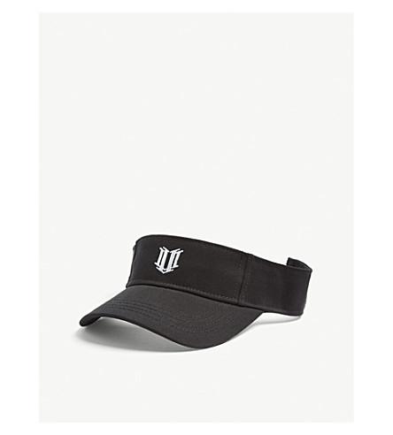 ELEVEN BY VENUS Embroidered logo visor (Black