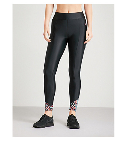 LAAIN阿米莉亚弹力平纹针织绑腿 (黑 + 斑马 + 打印