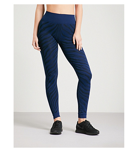 LAAIN Karina stretch-jersey leggings Navy black Best Sale Cheap Price Outlet With Mastercard Buy Cheap Excellent Perfect Professional ithXMStvks