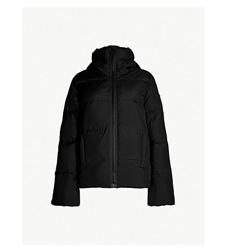 GOLDBERGH Aida padded shell-down hooded jacket (Black