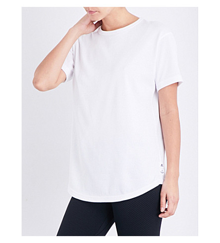 ADIDAS ORIGINALS Loose-fit jersey T-shirt (White