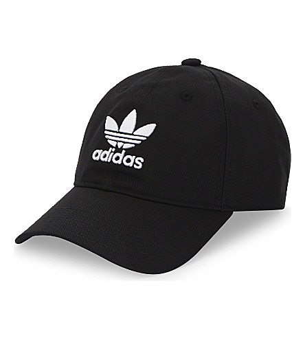 ADIDAS ORIGINALS Trefoil cotton cap (Black