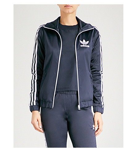 ADIDAS ORIGINALS Europa satin track jacket (Legend+ink