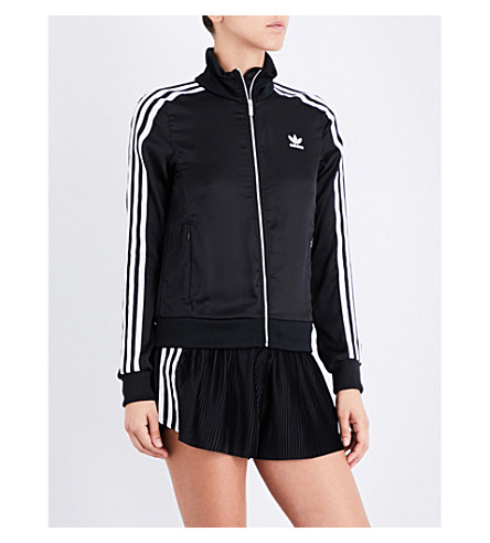 ADIDAS ORIGINALS Europa satin track jacket (Black