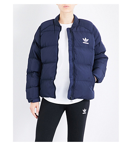 ADIDAS ORIGINALS SST shell-down puffer jacket (Legend ink