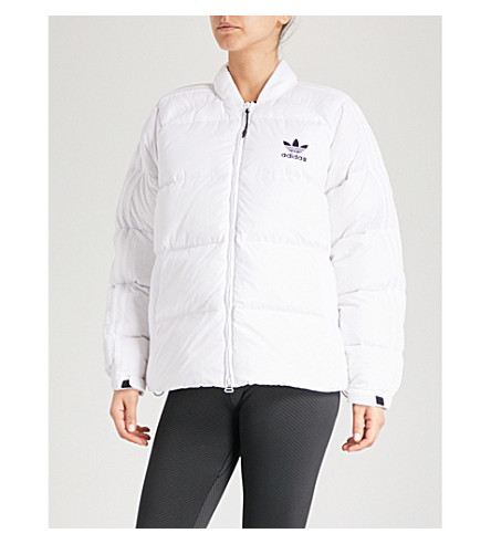 ADIDAS ORIGINALS SST shell-down puffer jacket (White
