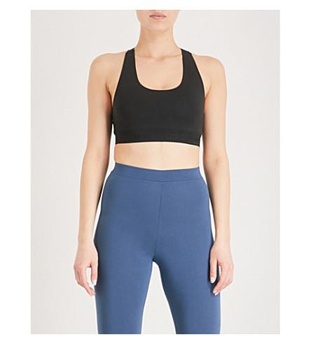 ADIDAS ORIGINALS Styling Complements stretch-cotton sports bra (Black