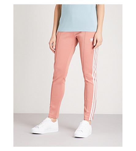 ADIDAS ORIGINALS SST stretch-jersey jogging bottoms (Ash pink s15-st