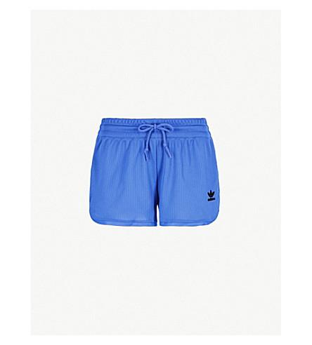 ADIDAS ORIGINALS Kendall Fashion League woven shorts (Hi-res+blue