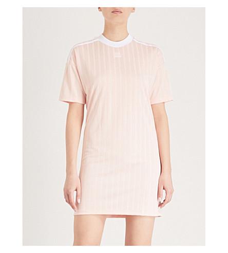 ADIDAS ORIGINALS Trefoil woven dress (Blush+pink+s15-st