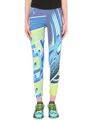 ADIDAS X MARY KATRANTZOU Digital-print jersey leggings