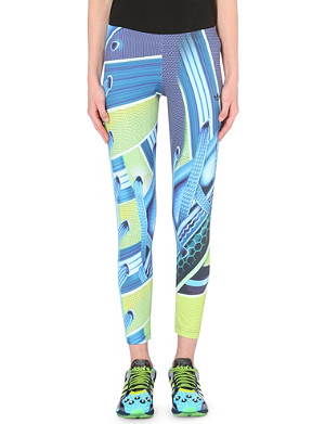 ADIDAS X MARY KATRANTZOU Digital-print jersey leggings