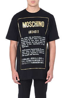 MOSCHINO Authentic cotton t-shirt