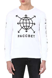 GOSHA RUBCHINSKIY Paccbet symbol long-sleeved top