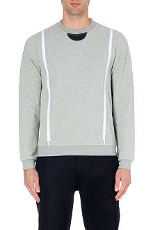 OPENING CEREMONY Zipper gusset sweatshirt