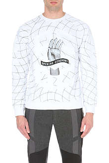 OPENING CEREMONY Remix Hand sweatshirt